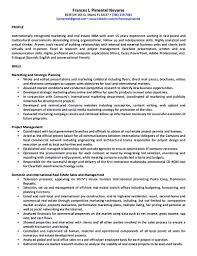Sample Real Estate Resume by Real Estate Developer Resume Sample Free Resume Example And