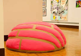concha beanbag sculpture more than a piece of art san antonio