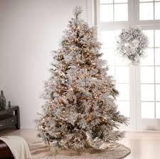 tree white lights decor