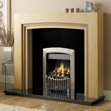 fireplace minimalist living room decoration with freestanding