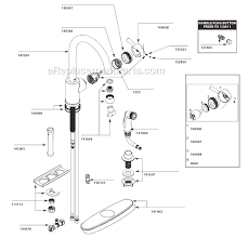 discontinued moen kitchen faucets moen 7106 parts list and diagram ereplacementparts