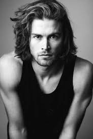 male models with long straight hair 15 most sexy long hairstyles for men long hairstyle