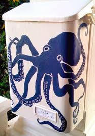 Nautical Themed Mailboxes - 21 awesome u0026 unique coastal u0026 nautical mailboxes u0026 mailbox art