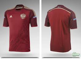 russia and adidas present new home shirt