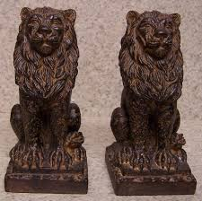 bookends lion directory inventory book ends elk
