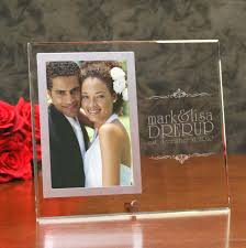 personalized wedding photo frame engraved glass wedding picture frame remember the day