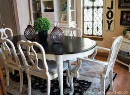 Painted Dining Table Ideas Fascinating Dining Table Makeover Take One Confessions Of A Serial