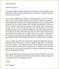 sample appeal letter for an academic dismissal amitdhull co
