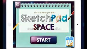 sketchpad space new ipad drawing app for children youtube