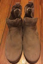 s ugg australia light grey bonham chelsea boots ugg australia block heel slip on ankle boots for ebay