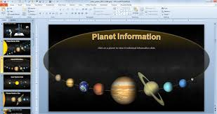solar system powerpoint presentation free download animated solar