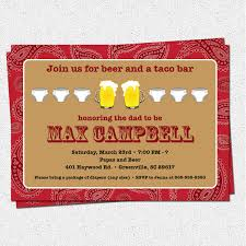 chuggies and huggies beer and diaper party invitation men