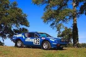 renault alpine a310 rally l u0027unique alpine a310 du dakar à vendre aux enchères l u0027argus