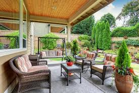 How To Decorate A Patio How To Decorate A Patio On A Budget Home Design Ideas And Pictures