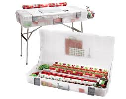 make a wrapping station container store organizing and gift