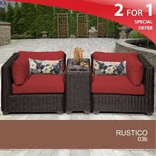 All Weather Wicker Patio Furniture Sets - 3 piece wicker patio set outdoor wicker seating