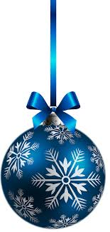 large transparent blue ornament png clipart