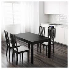 ikea legs dining tables bjursta dining table extendable brown black ikea