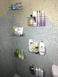 Bathroom Shower Storage Shower Storage Shower Storage Shelves As Well As Pleasant Design
