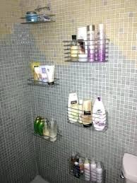 Bathroom Shower Storage Ideas Shower Storage Shower Storage Shelves As Well As Pleasant Design