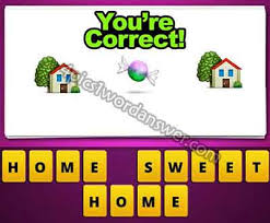 house emoji guess the emoji house candy sweet house 4 pics 1 word game answers