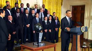 White House Tours Obama by The Miami Heat Visit The White House Youtube