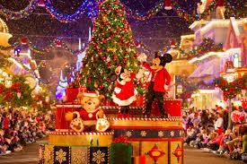 disney merry christmas party decorating ideas
