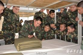the proper way to make a bed new pla campaign targets new recruits the second artillery corps