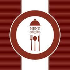 gourmet menu cover design vector free vectors pinterest menu