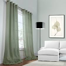 Eclipse Fresno Blackout Curtains by Interior Endearing Linen Drapes With Curtain Rod For Window