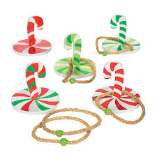 candy cane ring toss game ring toss candy canes and tossed