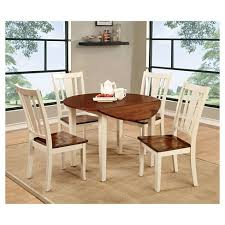 round dining room table and chairs sun pine 5pc curved edge round dining table set wood cherry and