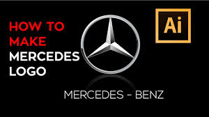 mercedes benz adobe illustrator logo tutorial youtube