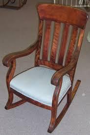 Gliding Rocking Chair Furniture Stuffed Rocking Chair Cushioned Rocking Chair