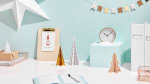 how to decorate a desk how to decorate your desk for christmas youtube