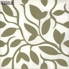 cement tile fine vine 8 square cement tile verdant tesselle