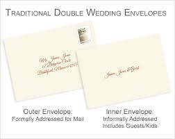 wedding invitations envelopes cool addressing wedding invitations without inner envelope 84