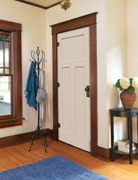 Craftsman Style Homes Interior Interior Doors In White Craftsman Style I Want These Doors Just