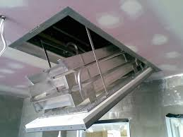 inspiring garage attic ladder 6 fire rated pull down attic ladder