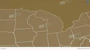 Elevation Map Of Michigan by Fitzys Web Site Travel United States Of America Michigan Map