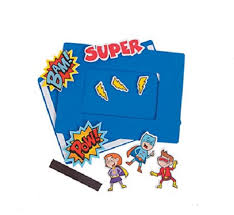 amazon com foam superhero picture frame craft kit makes 12 toys