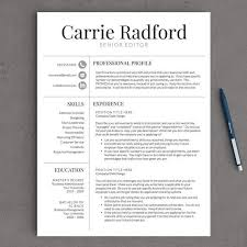 Template For A Professional Resume Free Professional Resume Template Resume Template And