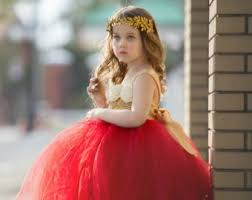 red tutu dress etsy