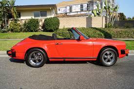 porsche 911 convertible black 1983 porsche 911sc cabriolet black leather stock 502 for sale