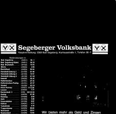 Finanzamt Bad Segeberg M Segeberger Volksbankm Pdf