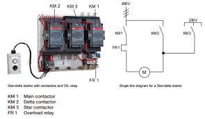 abb star delta starter with contactors electrical blog