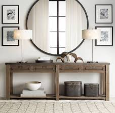foyer table and mirror ideas rustic entry table and mirror coma frique studio 6aaaf7d1776b