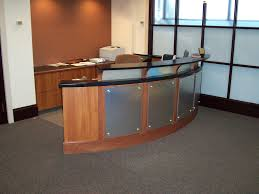 Desks Modern Office Reception Desk Reception Desk Office Furniture Products L Shaped Glass Hair Salon