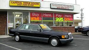 mercedes 420sel 1987 mercedes 420 sel smyrna auto sales