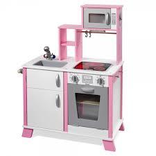 kinderk che holz rosa howa spielküche chefkoch aus holz mit led kochfeld kinderküche
